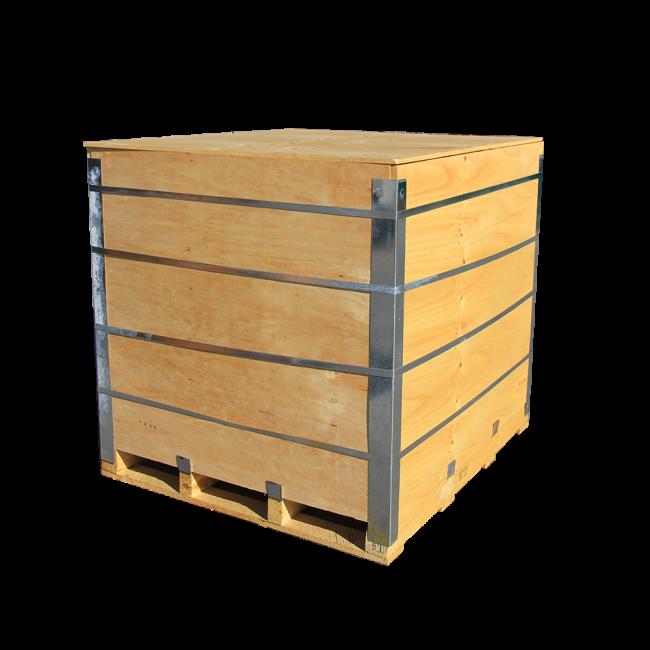 Wooden bin 1300 L