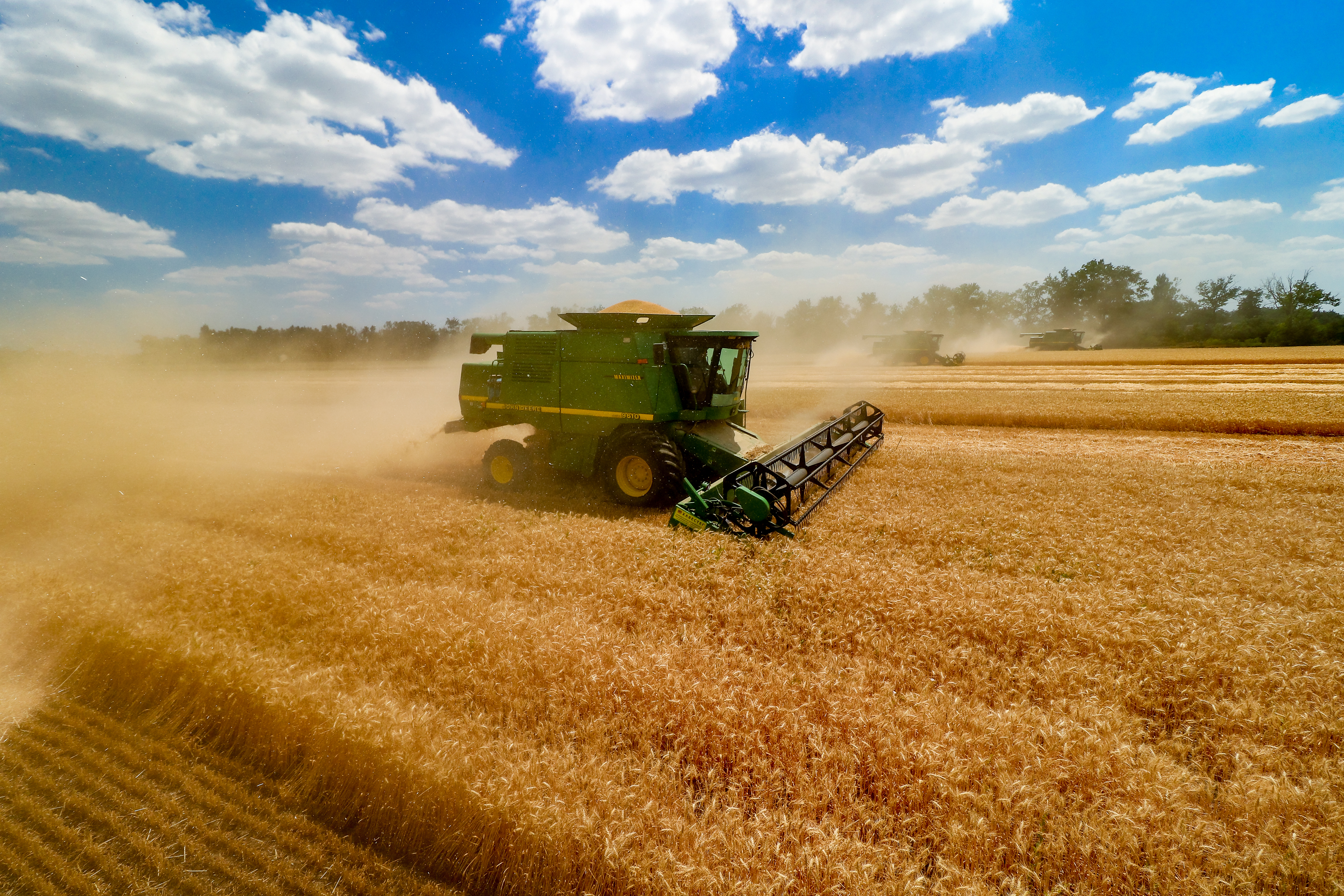 AGROFUSION FINISHED THE GRAIN HARVEST
